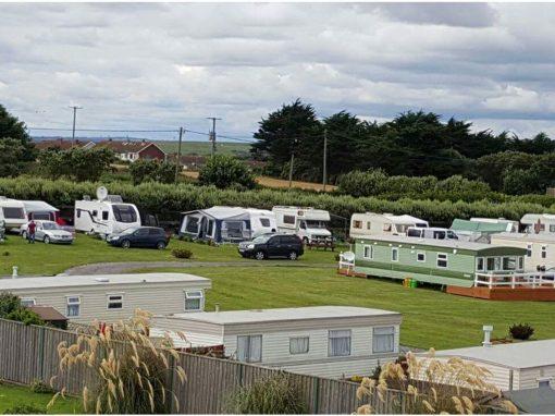 Tents / Touring Caravans / Campervans / Motorhomes – Aerial View