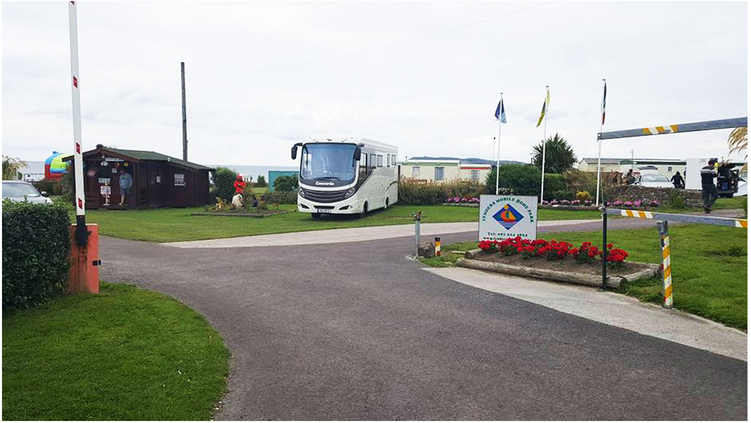 Front-Entrance-Camping, Campervans, Motorhomes - Lynders Mobile Home Park, Portrane:Donabate, North County Dublin, Fingal