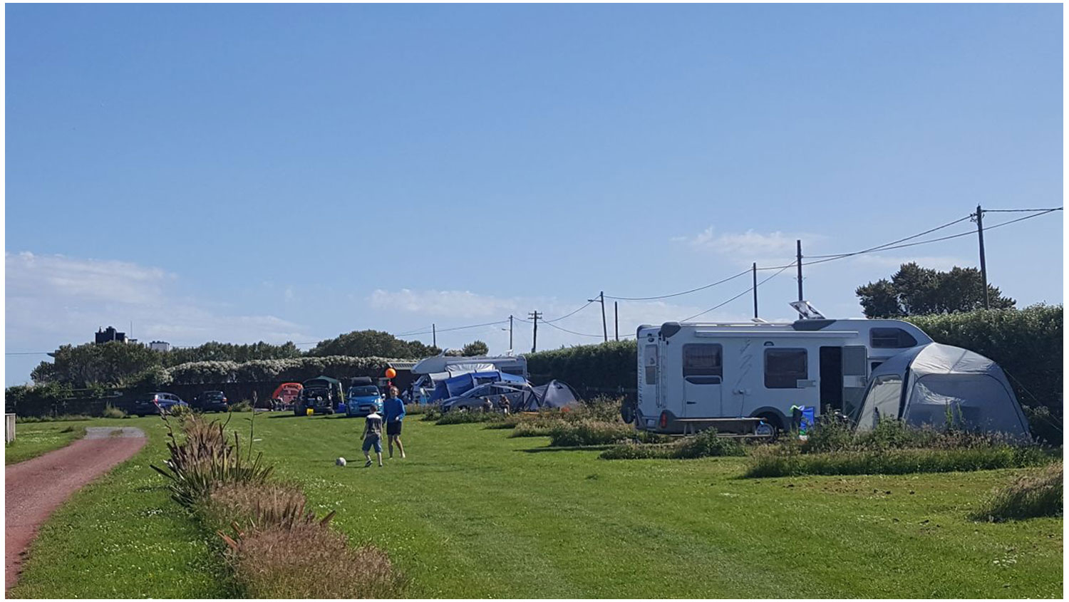 Motorhome1-Camping, Campervans, Motorhomes - Lynders Mobile Home Park, Portrane:Donabate, North County Dublin, Fingal