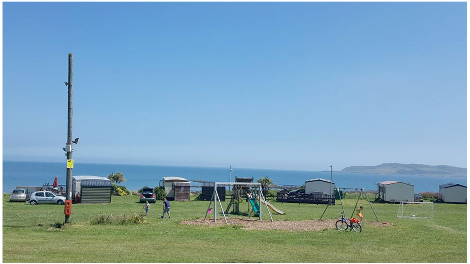 Playground-Area1-Camping, Campervans, Motorhomes - Lynders Mobile Home Park, Portrane:Donabate, North County Dublin, Fingal