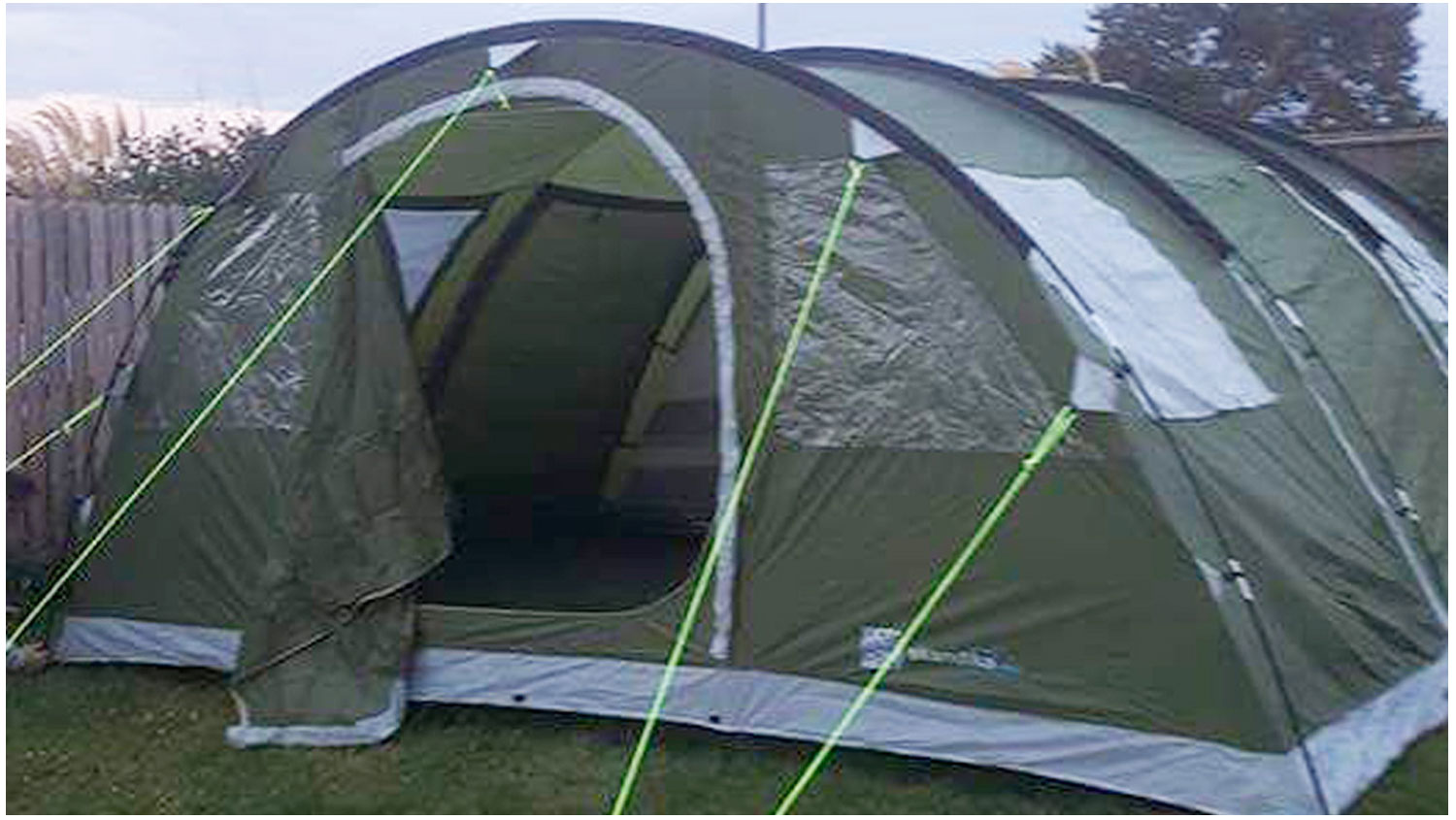 Tent_1-Camping, Campervans, Motorhomes - Lynders Mobile Home Park, Portrane:Donabate, North County Dublin, Fingal