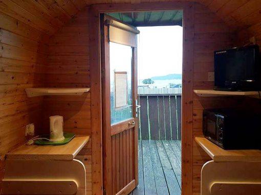Log Cabins & Pods – Cabin 3 Interior